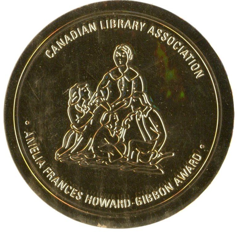 Amelia Frances Howard-Gibbon Award sticker
