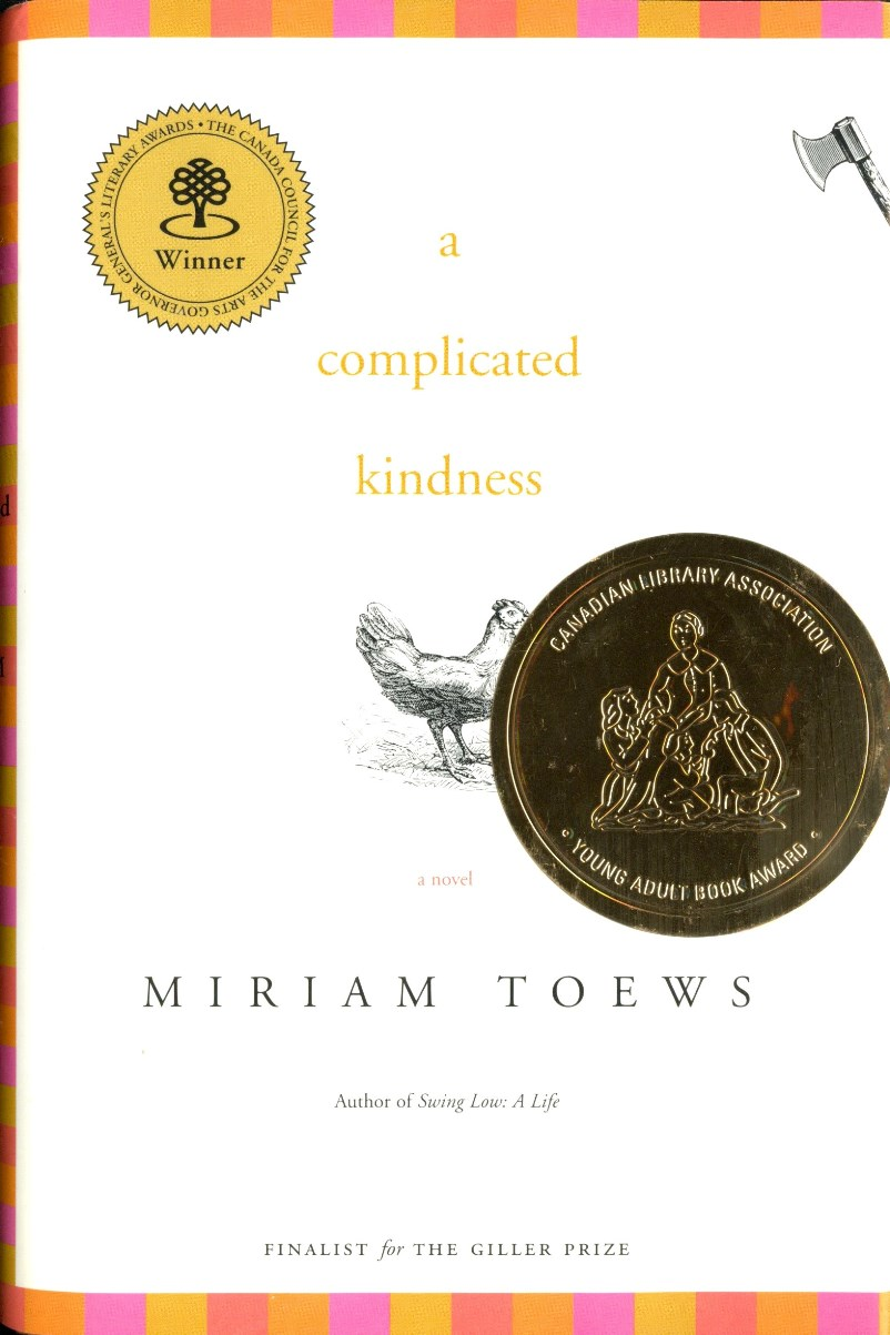 Miriam Toews A Complicated Kindness book cover