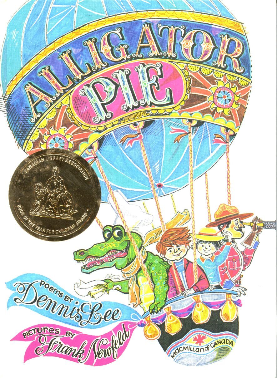 Dennis Lee Alligator PIe book cover