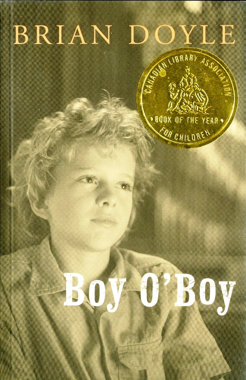 Brian Doyle Boy OBoy book cover