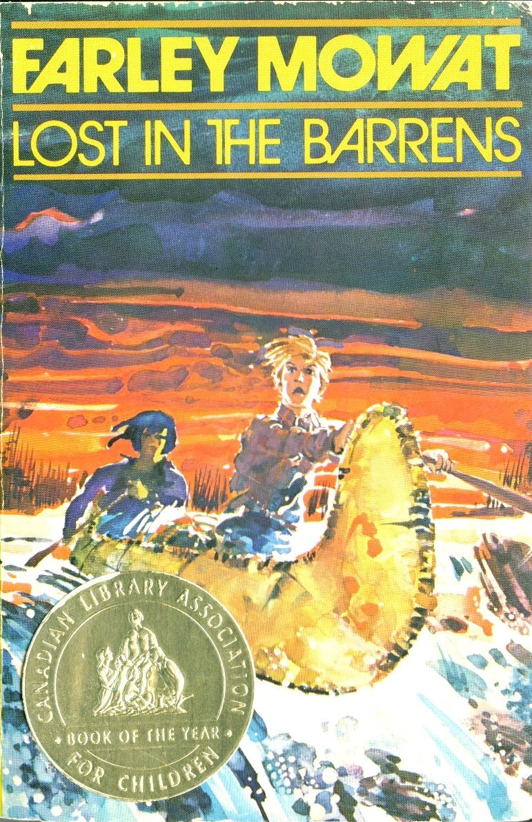 Farley Mowat Lost in the Barrens book cover