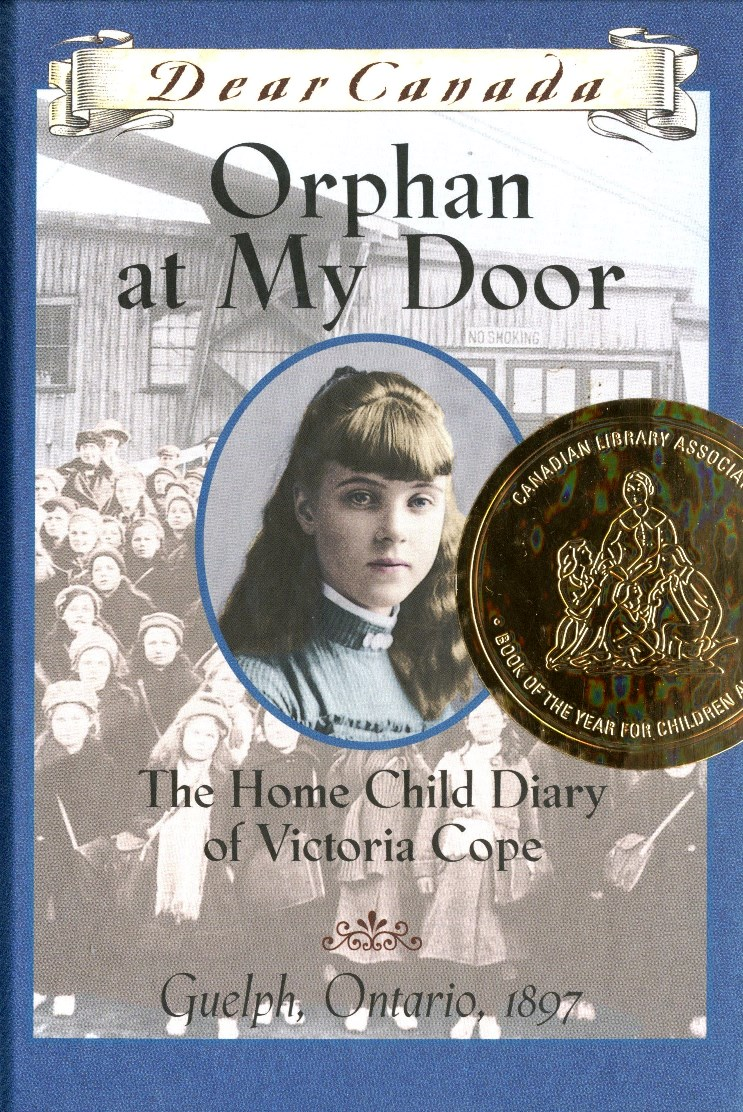 Jean Little Orphan at My Door The Home Child Diary of Victoria Cope book cover