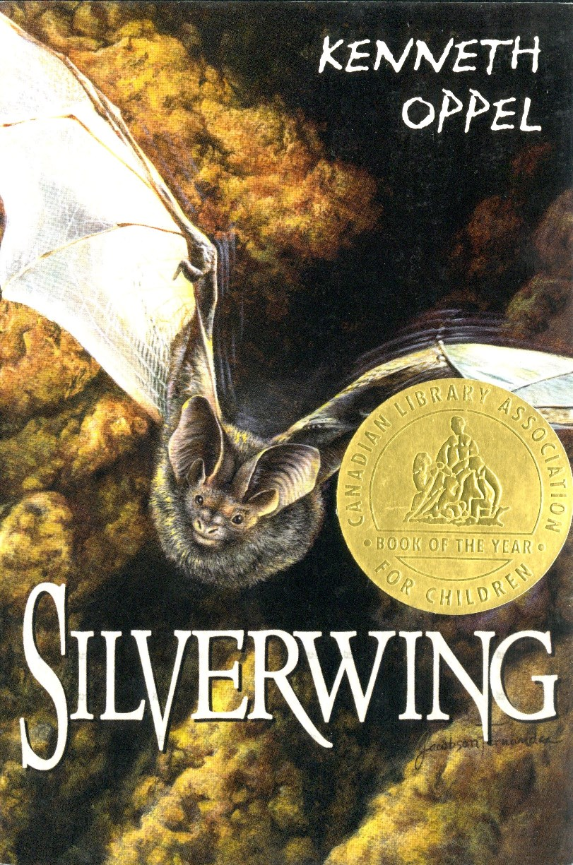 Kenneth Oppel Silverwing book cover