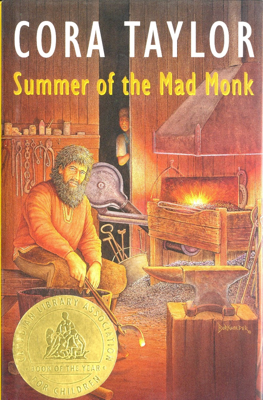Cora Taylor Summer of the Mad Monk book cover