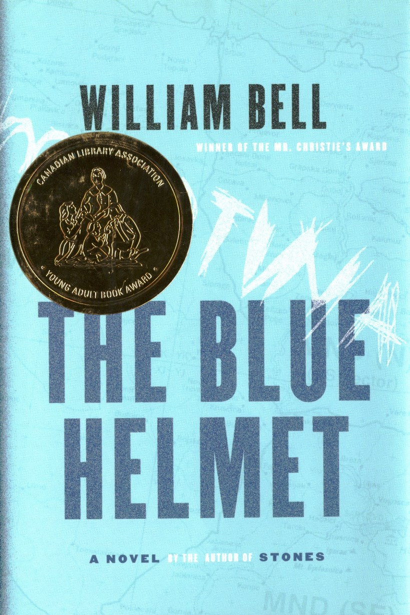 William Bell The Blue Helmet book cover
