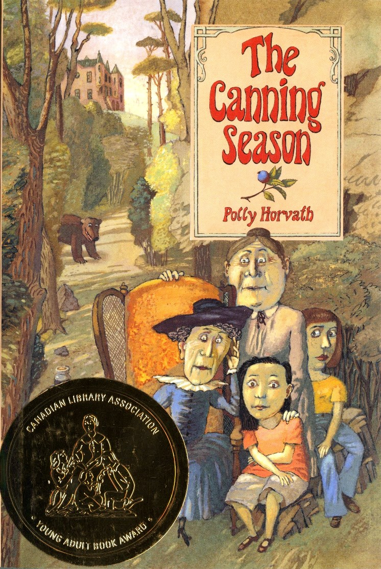 Polly Horvath The Canning Season book cover