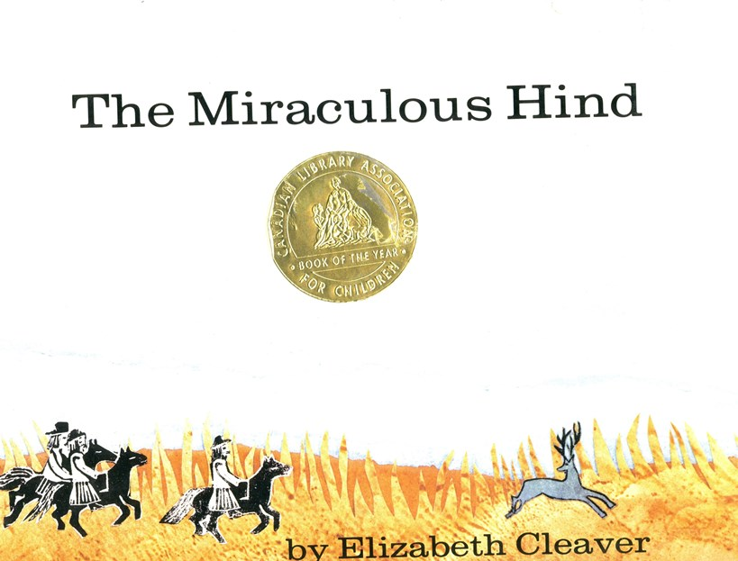Elizabeth Cleaver The Miraculous Hind book cover