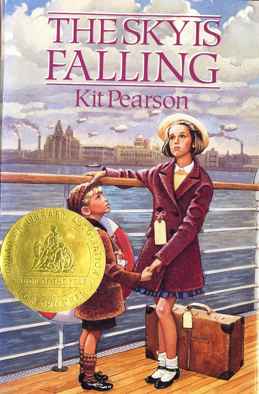 Kit Pearson The Sky is Falling book cover