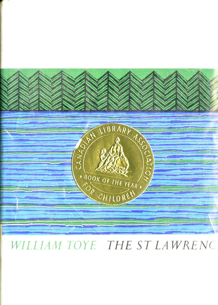 William Toye The St Lawrence book cover