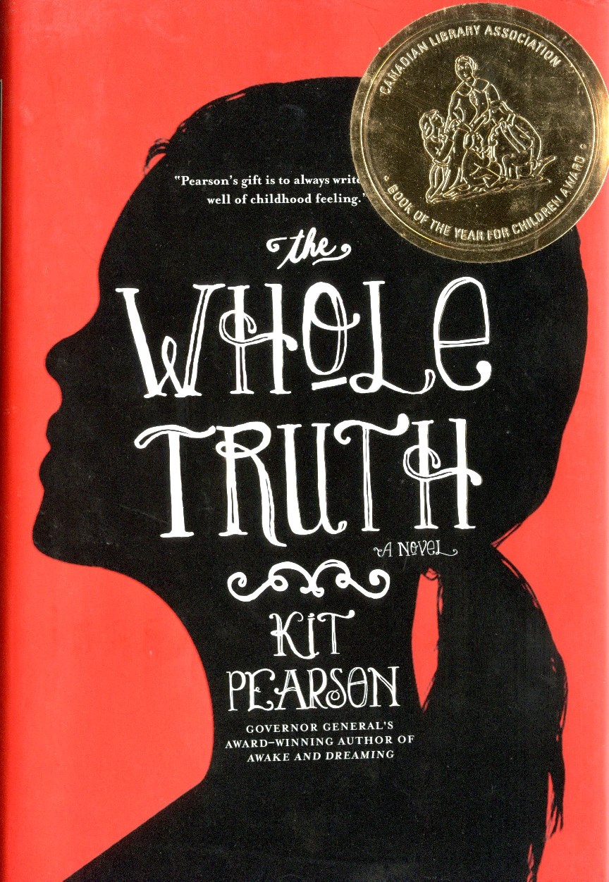 Kit Pearson The Whole Truth book cover