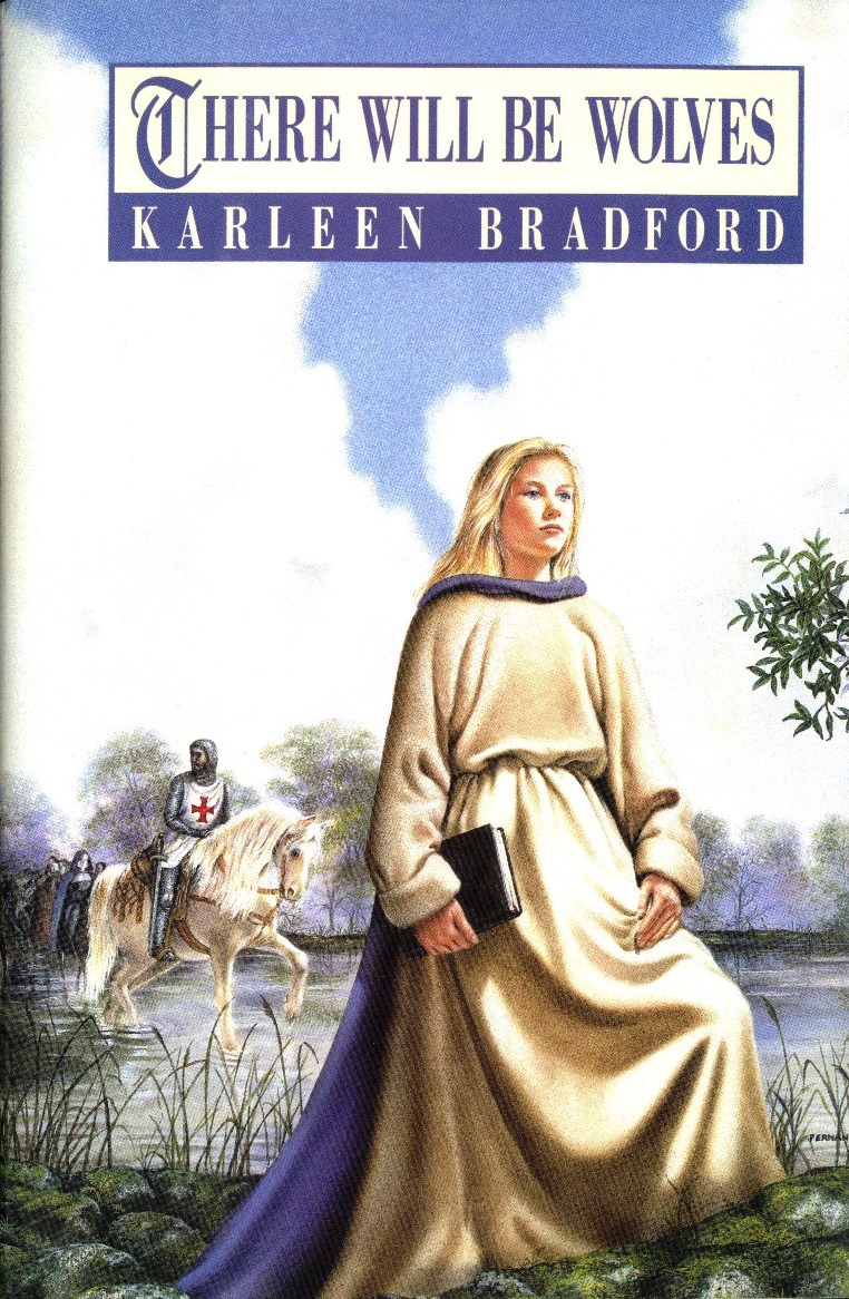 Karleen Bradford There Will Be Wolves book cover