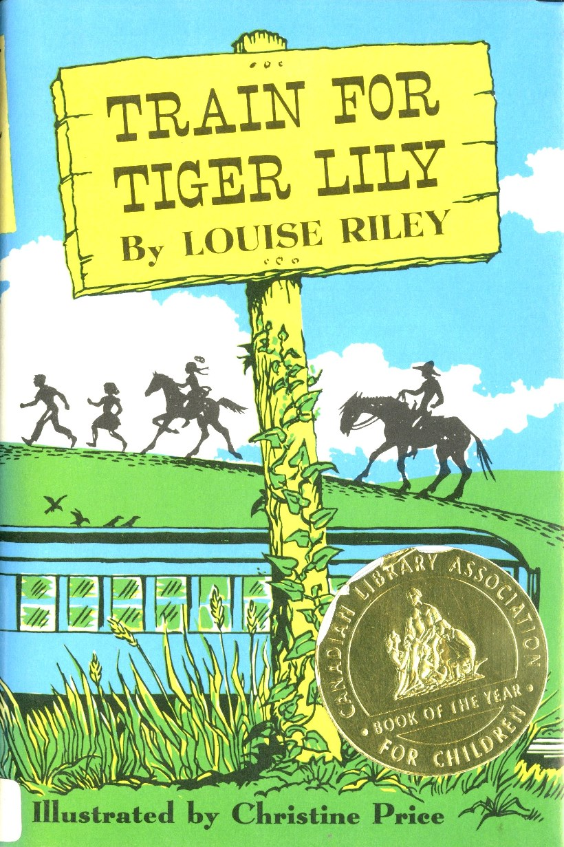 Louise Riley Train for Tiger Lily book cover