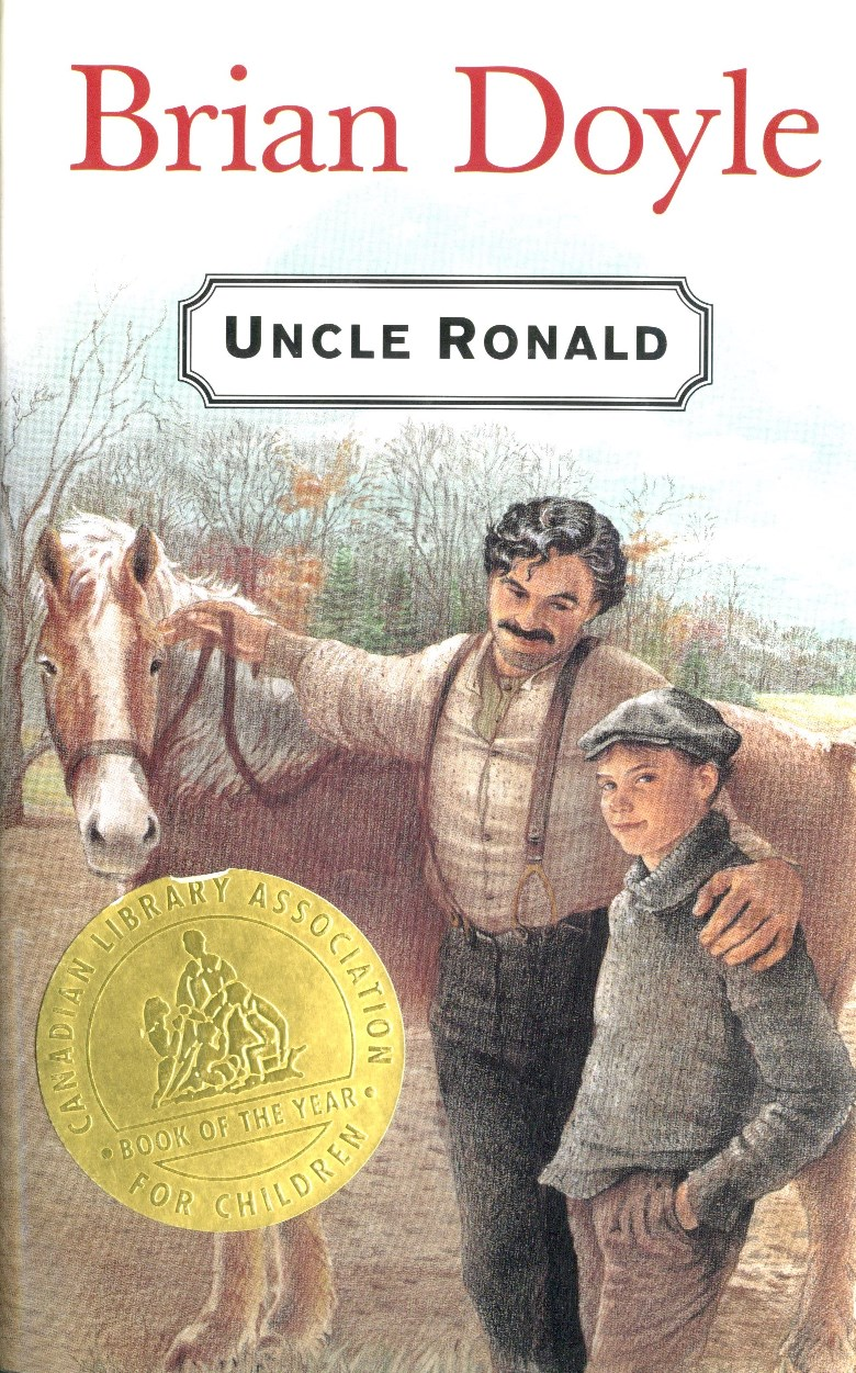 Brian Doyle Uncle Ronald book cover