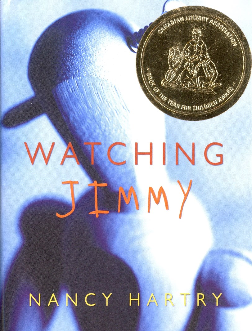 Nancy Hartry Watching Jimmy book cover
