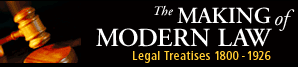 Making of Modern Law