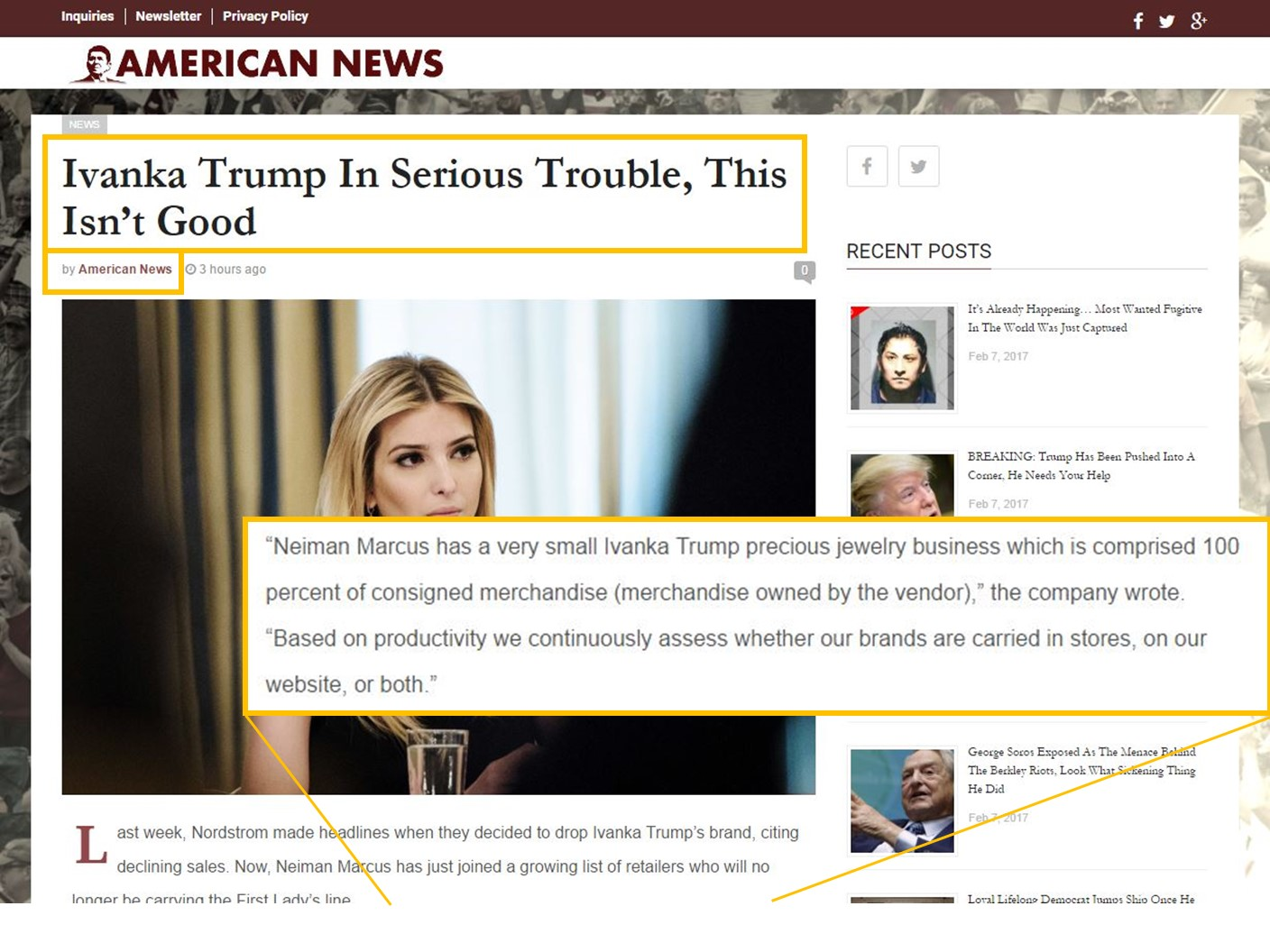 Screenshot: American News