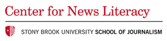 Center for News Literacy Stony Brook School of Journalism logo image