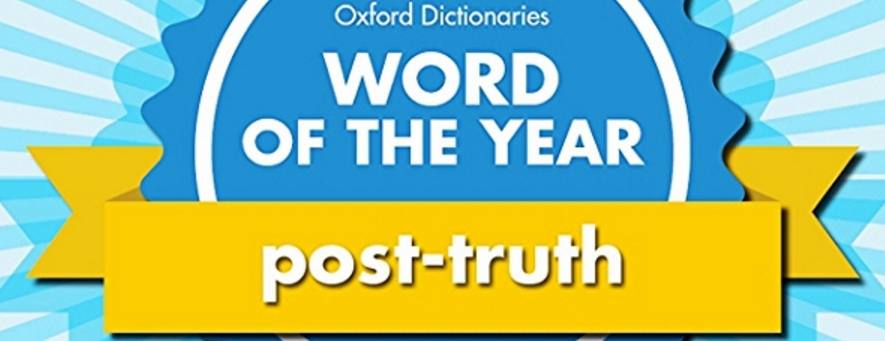 Oxford Dictionaries Word of the Year post-truth image