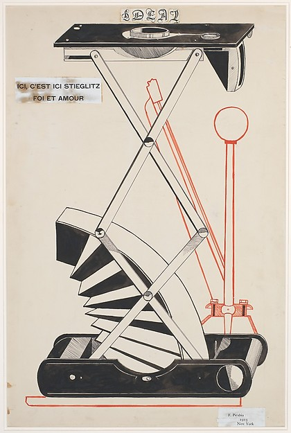Francis Picabia_Here, This Is Stieglitz Here_1915