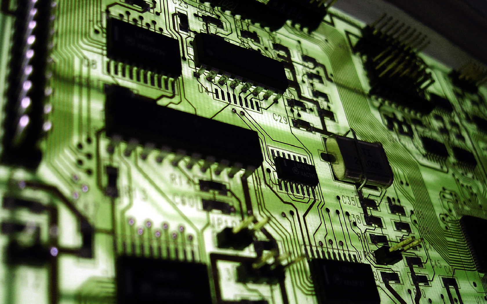 Picture of a computer component