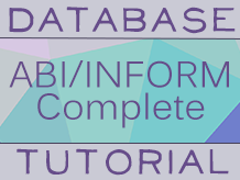 Business Database Tutorial