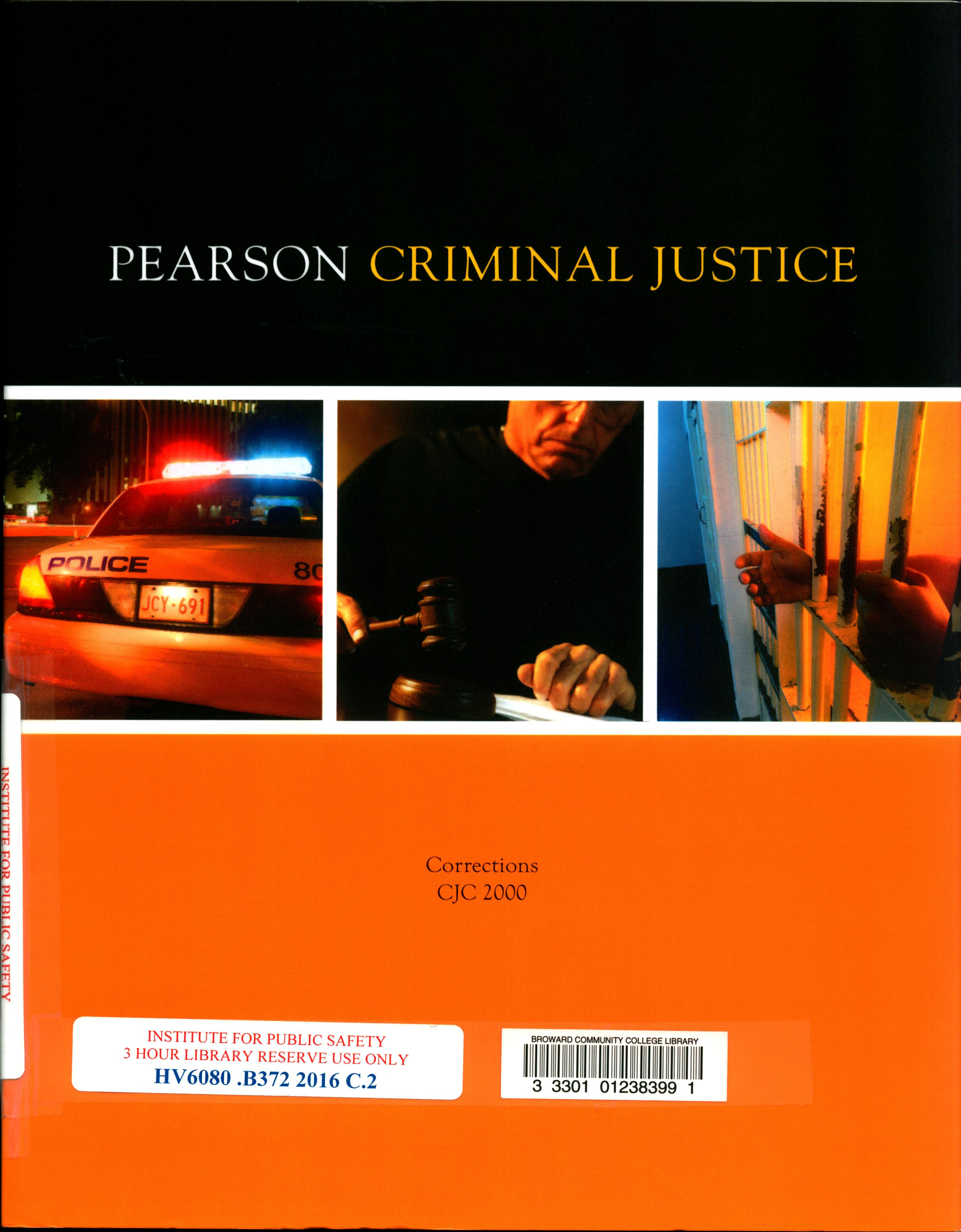 Pearson Criminal Justice: Corrections