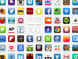 icons of various apps
