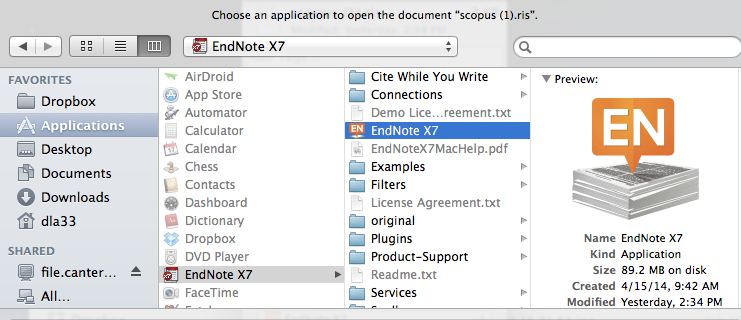 EndNote for MAC users - EndNote Guide - Subject Guides at