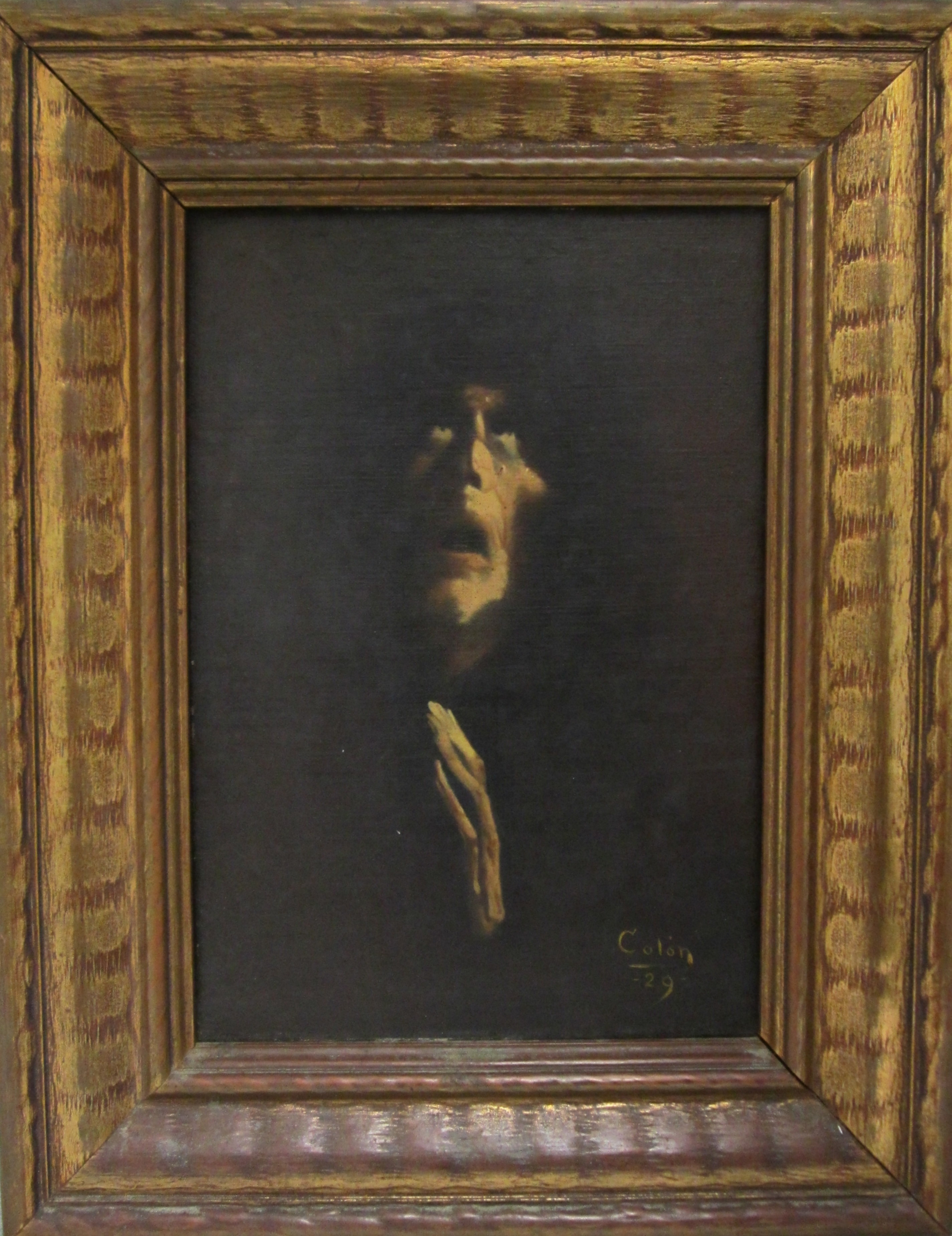 Image: Untitled by Oscar Colón Delgado, oil on canvas