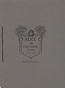 Alice in one dear land