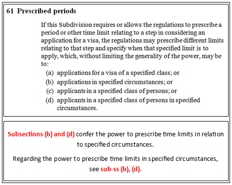 6: Multiple Act Sections - Migration Agents Legal Citation