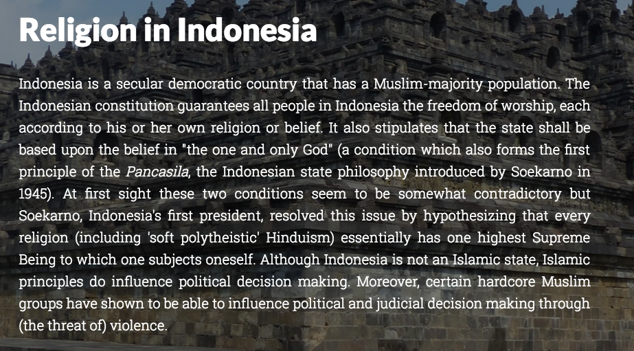 hindus of indonesia