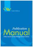 Cover of APA manual