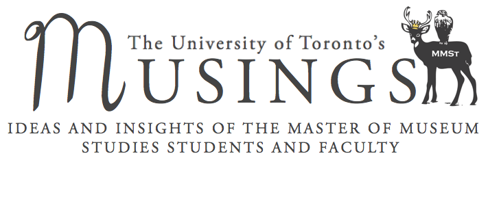 logo:  Musings:  Ideas and insights of the master of museum studies students and faculty