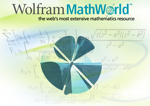 image of Wolram MathWorld
