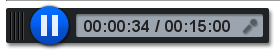 Image of recording time bar