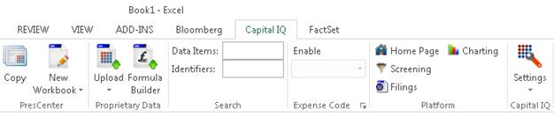 unsauchi • Blog Archive • Capital iq excel plugin tutorial
