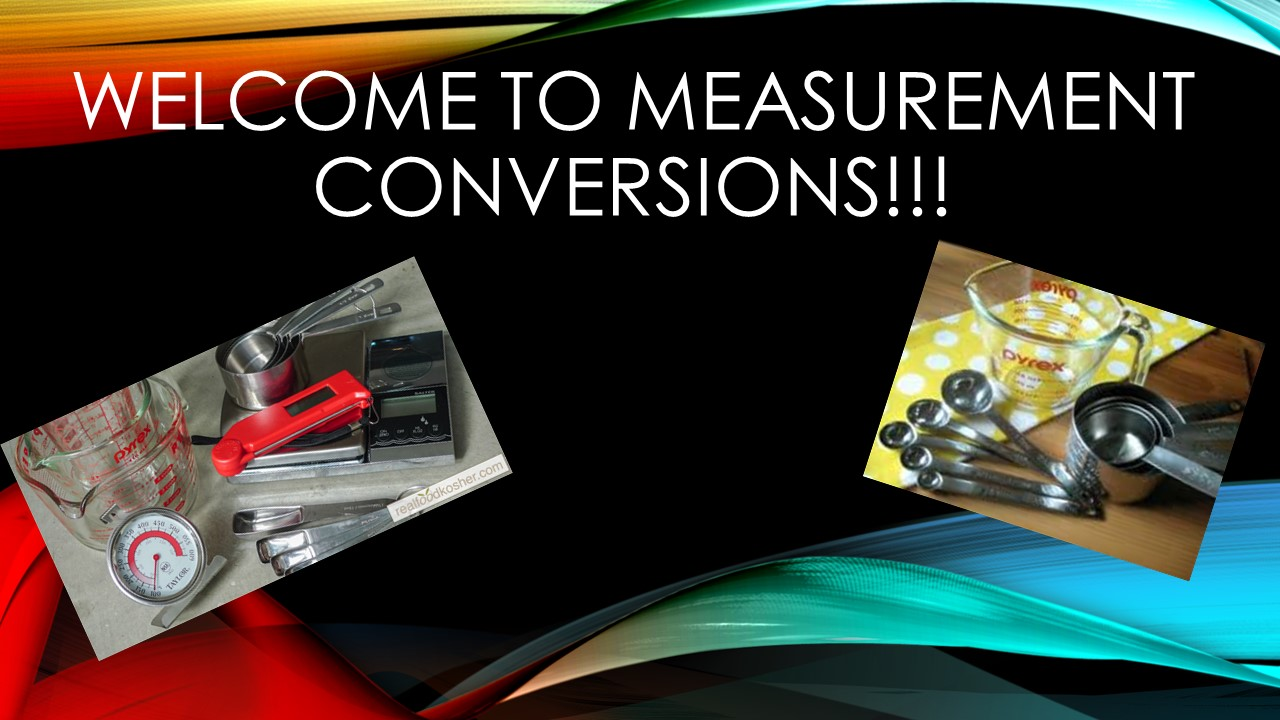 Welcome to Measurement Conversions!