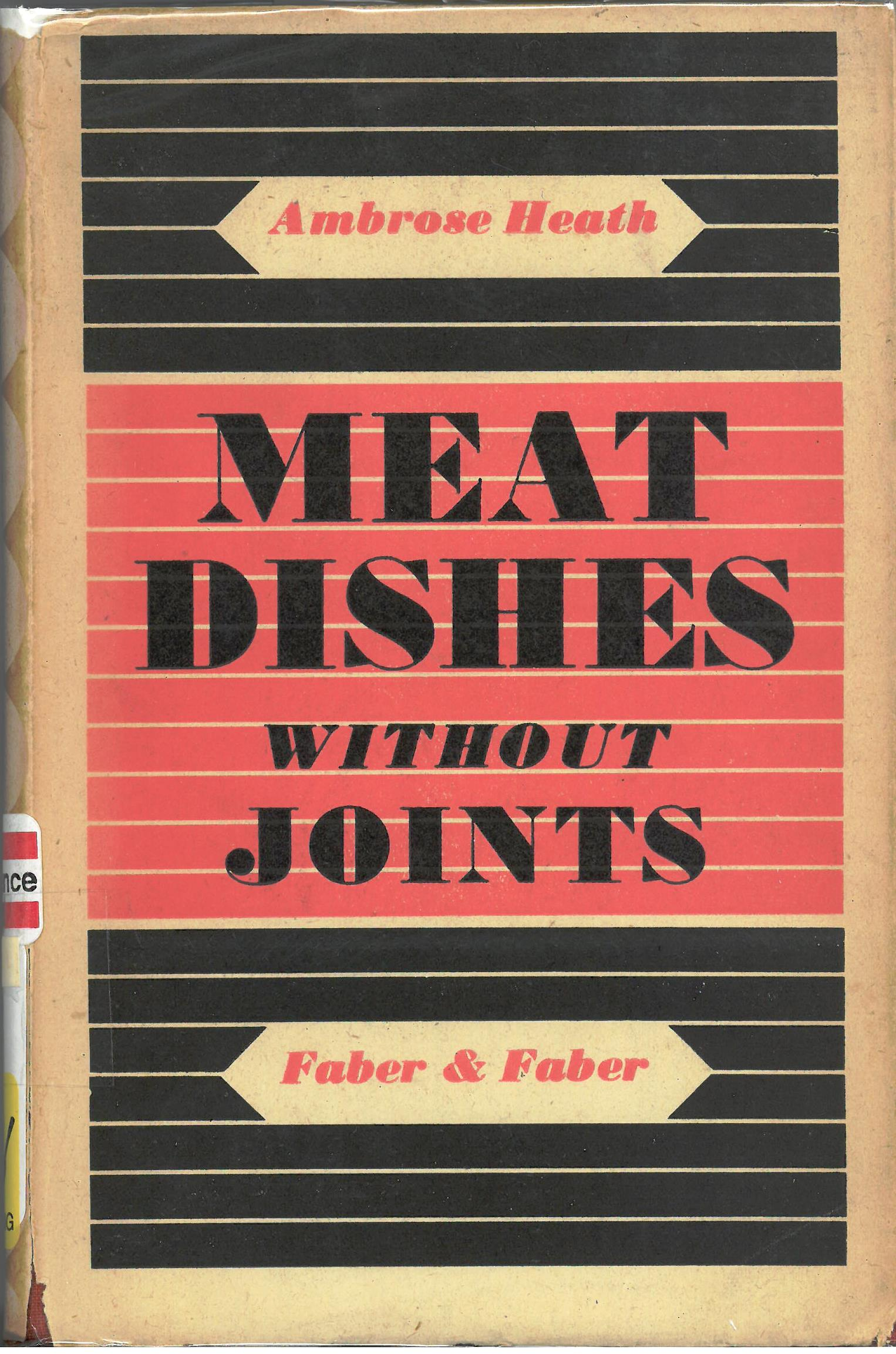 Meet Dishes without Joints