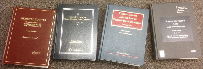 photo of 4 casebooks