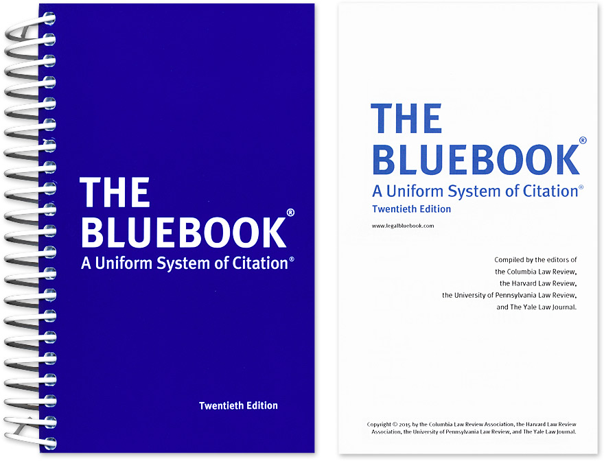 bluebook formats bluebook 101 library guides at university of