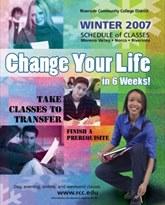 Riverside Community College District Schedule of Classes Winter 2007