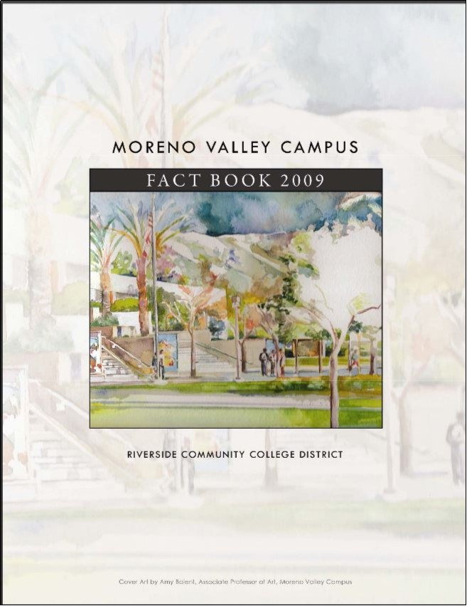 Moreno Valley College Factbook 2009