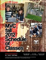 Riverside Community College District Schedule of Classes, Moreno Valley College, Fall 2012