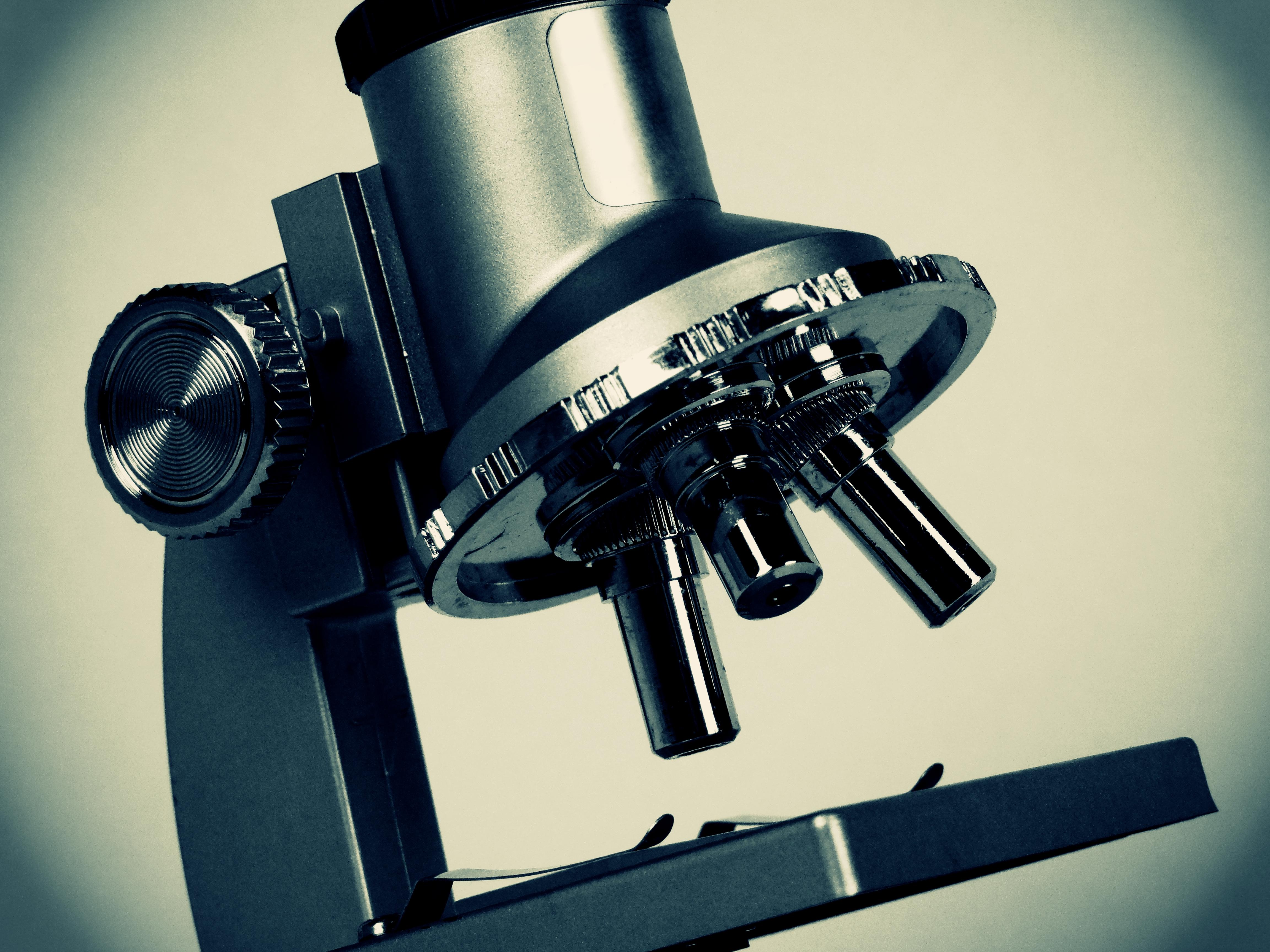 Picture of a microscope