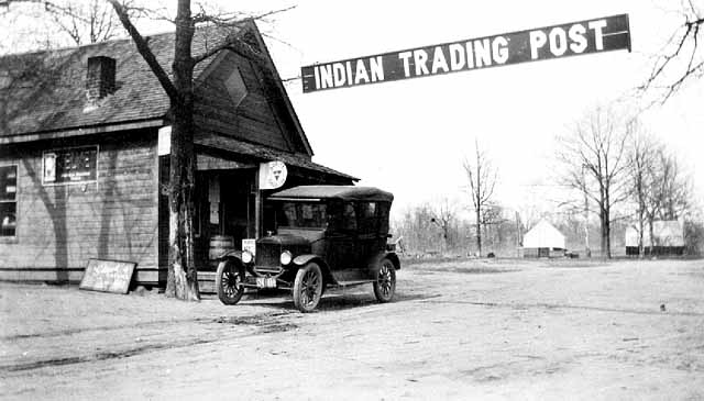 Mille Lacs Trading Post, circa 1920