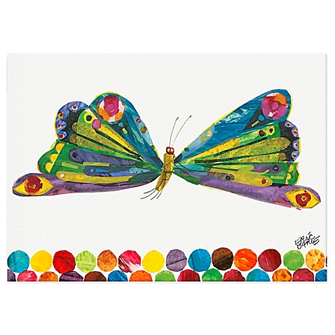 Eric Carle's butterfly