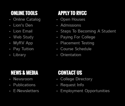 Evelyn s field library blog evelyn s field library at raritan online tools menu on college homepage fandeluxe Image collections