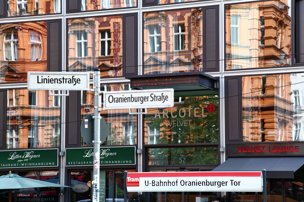 photo of signs in Berlin, Germany