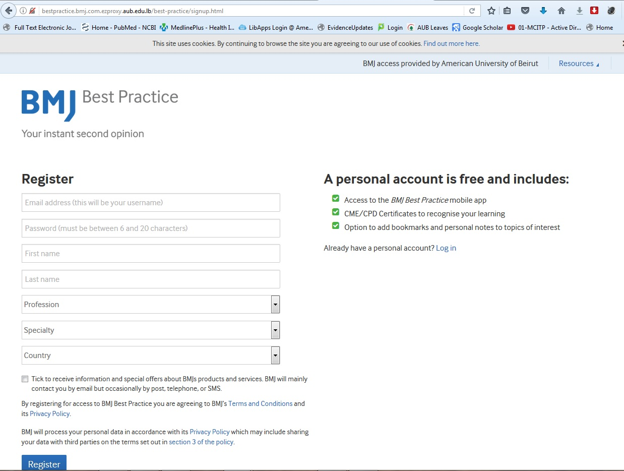 BMJ Best Practice - Mobile Apps - LibGuides at American University